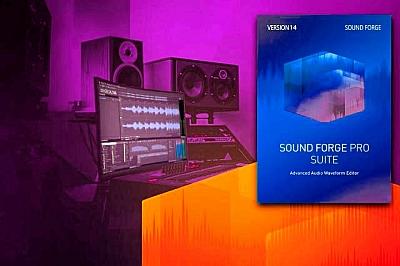 MAGIX - Sound Forge Pro Suite 14.0.0 build x86 x64 [01.2020, MULTi +RUS]