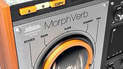 Muramasa Audio - MorphVerb 1.0.0 VST, VST3, AAX x86 x64 [05.2020]