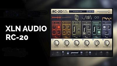 XLN Audio - RC-20 Retro Color 1.1.1.2 VST, AAX x86 x64