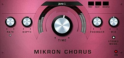 112dB - Mikron Chorus 1.0.0 VST, VST3, AAX, NKS x86 x64