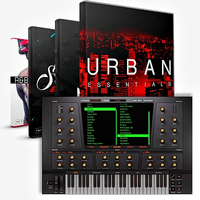 Initial Audio - Heat Up 3 v3.1.3 STANDALONE, VSTi x64 + Platinum Factory, TheNorth EXPANSION