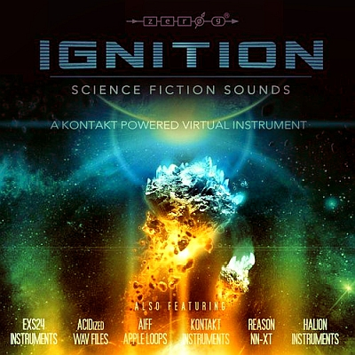 Zero-G - Ignition - Science Fiction Sounds (WAV, KONTAKT, AIFF, EXS24, HALion, NN-XT)