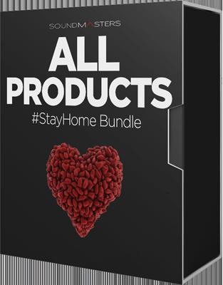 Soundmasters - StayHome Bundle (WAV, SERUM, MASSIVE, ABLETON)
