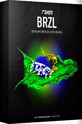 Standalone-Music - BRZL - Brazilian Bass Serum Presets by 7 SKIES
