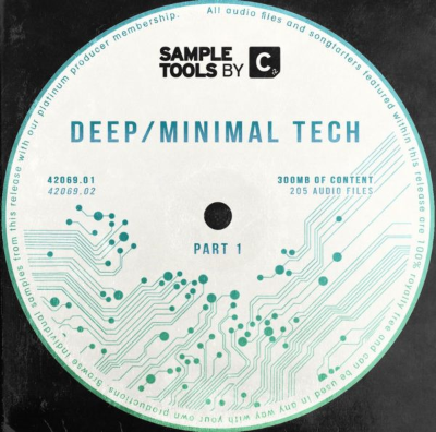 Sample Tools by Cr2 - Deep Minimal Tech (MIDI, WAV)