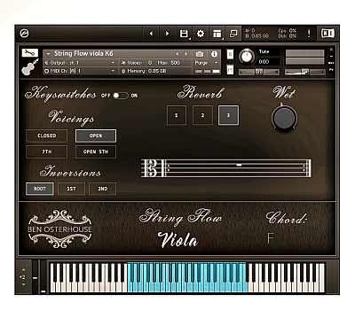 Ben Osterhouse - String Flow Cello v1.3.1 (KONTAKT)