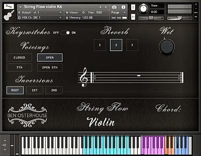 Ben Osterhouse - String Flow Violin V1.3.1 (KONTAKT)