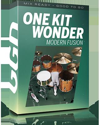 GetGood Drums - One Kit Wonder: MODERN FUSION (KONTAKT)