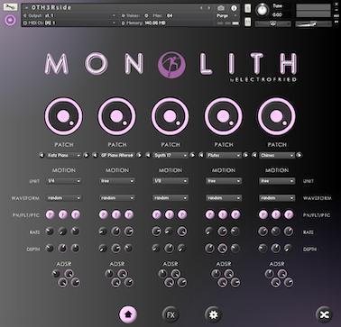 ELECTROFRIED - MONOLITH v1.0 (KONTAKT)