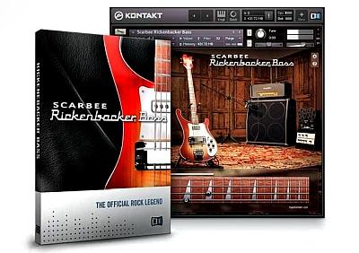 Native Instruments - Scarbee Rickenbacker Bass v1.2.0 (KONTAKT)
